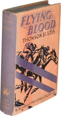 Books:Mystery & Detective Fiction, Thomson Burtis. Flying Blood. New York: Fiction League, 1932. First edition....