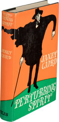 Books:Mystery & Detective Fiction, Janey Caird. Perturbing Spirit. London: Geoffrey Bles, 1966. First edition....