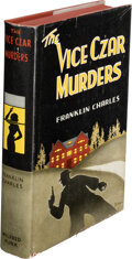 Books:Mystery & Detective Fiction, Franklin Charles, pseudonym [Cleve F. Adams & Robert Leslie Bellem]. The Vice Czar Murders. New York: Wilfred Funk, ...