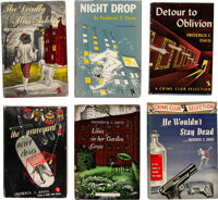 Frederick C. Davis. Group of Six Crime Club Novels. Published for The Crime Club, New York: Doubleday, Doran & Co...