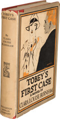 Books:Mystery & Detective Fiction, Clara Louise Burnham. Tobey's First Case. A Novel. Boston and New York: Houghton Mifflin Co., 1926. First editio...