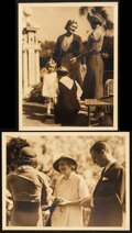 """Movie Posters:Miscellaneous, Barrymore Family by William Grimes (MGM, 1932). Very Fine+. Publicity Photos (4) (10"""" X 13""""). Miscellaneous.. ... (Total: 4 Items)"""