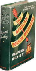 Books:Mystery & Detective Fiction, Elspeth Huxley. The African Poison Murders. New York and London: Harper & Brothers, 1940. First American edition....