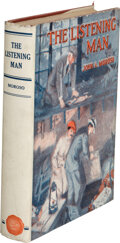 Books:Mystery & Detective Fiction, John A. Moroso. The Listening Man. New York and London: D. Appleton & Co., 1924. First edition....
