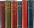 Books:Mystery & Detective Fiction, A.C. Fox-Davies. Lot of Six First Editions. London: John Lane, 1907-1912.... (Total: 6 Items)