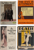 Books:Mystery & Detective Fiction, Valentine Williams. Lot of Four First Editions. London and New York: [various publishers], 1922-1932. ... (Total: 4 Items)