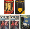 Books:Mystery & Detective Fiction, Hulbert Footner. Lot of Five First Editions. Garden City and London: Crime Club, [1928-1941]. ... (Total: 5 Items)