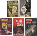Books:Mystery & Detective Fiction, Q. Patrick. Lot of Five First Editions. New York and Philadelphia: [various publishers], 1932-1941. ... (Total: 5 Items)