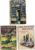 Books:Mystery & Detective Fiction, Dornford Yates. Lot of Three First Editions. London: Ward, Lock, [1937-1942]. ... (Total: 3 Items)
