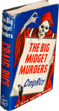 Books:Mystery & Detective Fiction, Craig Rice. The Big Midget Murders. New York: Simon and Schuster, 1942. First edition. ...