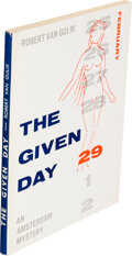 Books:Mystery & Detective Fiction, Robert Van Gulik. The Given Day. Kuala Lumpur: Art Printing Works, 1964. First edition of this rare item....