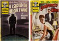 Books:Mystery & Detective Fiction, William Irish. Lot of Two Paperback First Editions. New York: Avon, 1945-1946. ... (Total: 2 Items)