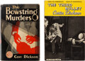 Books:Mystery & Detective Fiction, John Dickson Carr [writing as Carr Dickson and Carter Dickson]. Lot of Two First Editions. New York and London: [various pub... (Total: 2 Items)