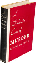 Books:Mystery & Detective Fiction, Sinclair Gluck. A Delicate Case of Murder. New York: Macmillan, 1937. First edition. ...