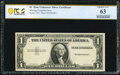 Error Notes:Missing Third Printing, Missing Third Printing Error Fr. ? $1 ? Silver Certificate. PCGS Banknote Choice Unc 63.. ...