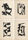 Works on Paper, Alexandre Noll (French, 1890-1970). Group of Four Drawings. Ink on paper. 15 x 10-1/2 inches (38.1 x 26.7 cm) (each). Ea... (Total: 4 Items)