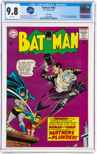 Batman #169 Twin Cities Pedigree (DC, 1965) CGC NM/MT 9.8 White pages