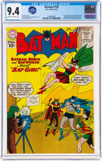 Batman #139 (DC, 1961) CGC NM 9.4 Off-white to white pages