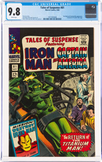 Tales of Suspense #81 (Marvel, 1966) CGC NM/MT 9.8 White pages