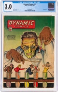 Dynamic Comics #11 (Chesler, 1944) CGC GD/VG 3.0 Cream to off-white pages