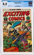 Golden Age (1938-1955):Superhero, Exciting Comics #36 (Nedor, 1944) CGC VF 8.0 Off-white pages....
