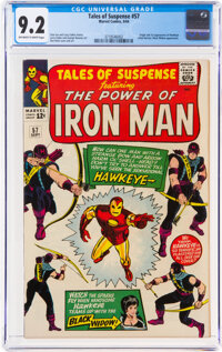 Tales of Suspense #57 (Marvel, 1964) CGC NM- 9.2 Off-white to white pages
