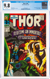 Thor #136 (Marvel, 1967) CGC NM/MT 9.8 White pages