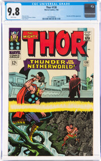 Thor #130 (Marvel, 1966) CGC NM/MT 9.8 White pages
