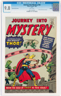Silver Age (1956-1969):Superhero, Journey Into Mystery #83 Golden Record Reprint (w/o record) (Marvel, 1966) CGC NM/MT 9.8 White pages....