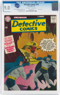 Silver Age (1956-1969):Superhero, Detective Comics #239 (DC, 1957) CGC VF/NM 9.0 Off-white to white pages....