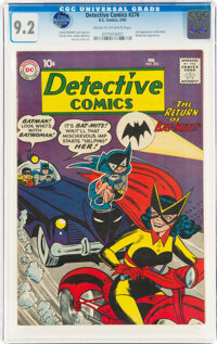 Detective Comics #276 (DC, 1960) CGC NM- 9.2 Cream to off-white pages
