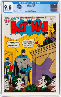 Batman #163 (DC, 1964) CGC NM+ 9.6 Off-white to white pages