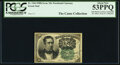 Fractional Currency:Fifth Issue, John Burke Courtesy Autographed Fr. 1264 10¢ Fifth Issue PCGS About New 53PPQ.. ...