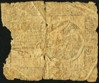Continental Currency February 26, 1777 $2 About Good
