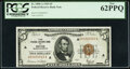Low Serial Number 49 Fr. 1850-A $5 1929 Federal Reserve Bank Note. PCGS New 62PPQ
