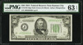 Fr. 2102-J $50 1934 Dark Green Seal Federal Reserve Note. PMG Choice Uncirculated 63 EPQ