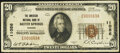 National Bank Notes:Kansas, Baxter Springs, KS - $20 1929 Ty. 1 The American National Bank Ch. # 11056 Very Fine.. ...