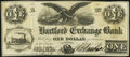 Obsoletes By State:Indiana, Hartford, IN- Hartford Exchange Bank $1 Sep. 1, 1858 Wolka 0835-01 Very Fine.. ...