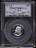Proof Roosevelt Dimes: , 1979-S Type Two PR 69 Deep Cameo PCGS. ...