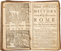 Books:Children's Books, [Thomas Howard]. Roman Stories. Or, the history of the Seven Wise Mistresses of Rome. London: printed by A.W. fo...