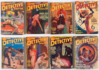 Dime Detective Magazine Group of 11 (Popular, 1932-34) Condition: GD+.... (Total: 11 Items)
