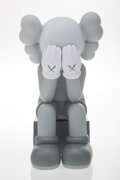 Collectible, KAWS (b. 1974). Passing Through (Grey), 2013. Painted cast vinyl. 11-1/2 x 6-1/2 x 7-1/2 inches (29.2 x 16.5 x 19.1 cm)...