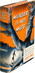 Books:Mystery & Detective Fiction, Audrey Newell. Murder is Not Mute. Philadelphia: Macrae-Smith Co., 1940. First edition....