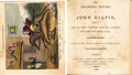 Books:Children''s Books, [William Cowper]. The Diverting History of John Gilpin. Shewing How He Went Further Than He Intended, and Came Hom... (Total: 2 )