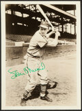 Autographs:Photos, Stan Musial Signed Vintage Photograph....