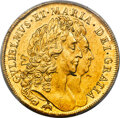 """Great Britain, Great Britain: William & Mary gold """"Elephant & Castle"""" 5 Guineas 1692 MS61 PCGS, ..."""