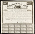Confederate Notes:Group Lots, Ball 3 Cr. 6A $100 1861 Bonds Two Examples Very Fine.. ... (Total: 2 items)
