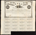 Confederate Notes:Group Lots, Ball 56 Cr. 84 $1,000 1861 Bond Fine, bondholders rubber stamping;. Ball 82 Cr. 90 $1000 1861 Bond Fine, edge wear, long m... (Total: 2 items)