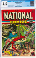 Golden Age (1938-1955):Superhero, National Comics #7 (Quality, 1941) CGC VG+ 4.5 Off-white to white pages....