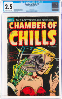 Chamber of Chills #19 (Harvey, 1953) CGC GD+ 2.5 Off-white to white pages